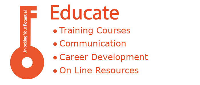 3 – Educate