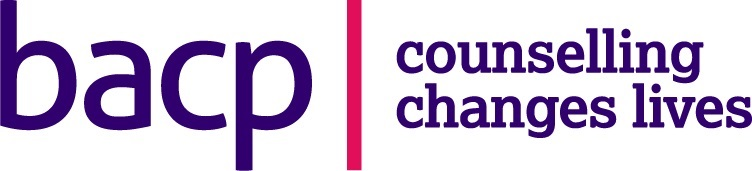 "Britich Association for Counselling and Psychotherapy logo ""counselling changes lives"""