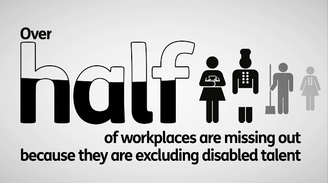 Over half of workplaces are missing out because they are excluding disabled talent